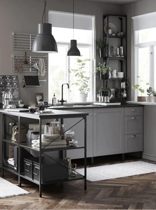 Cocina esquina enhet de Ikea
