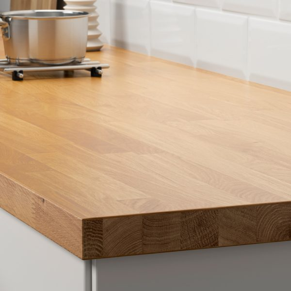 Catálogo Cocinas Ikea 2021 encimera madera maciza