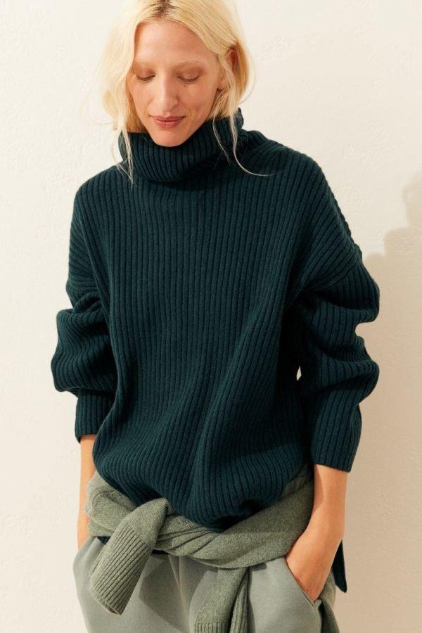 catálogo de H&M para Otoño Invierno 2020-2021-jersey-canale-cuello