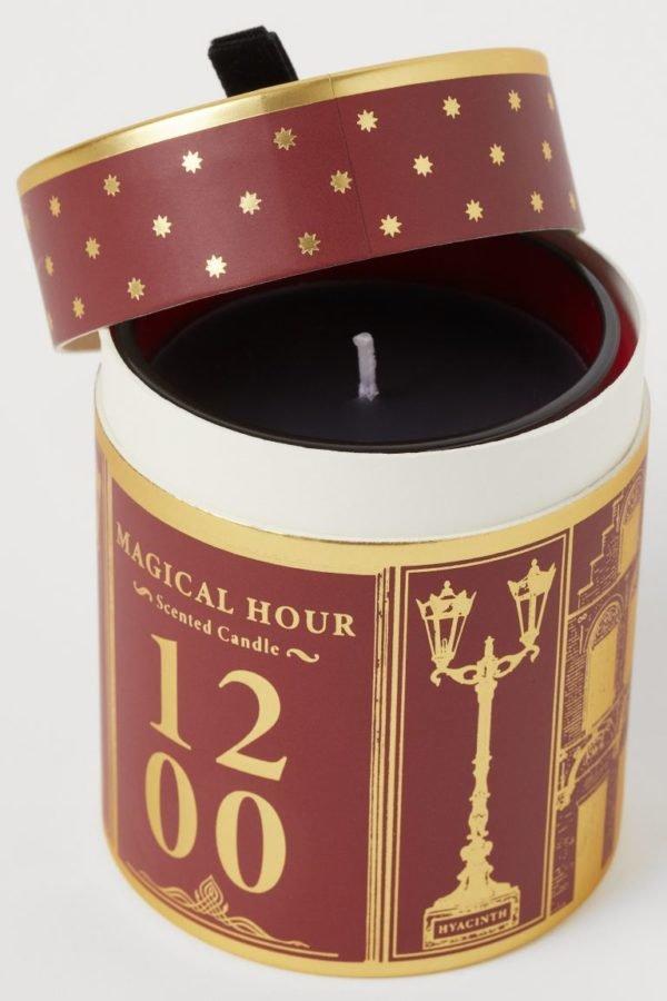 Catálogo H&M Home Navidad 2020 vela aromatica