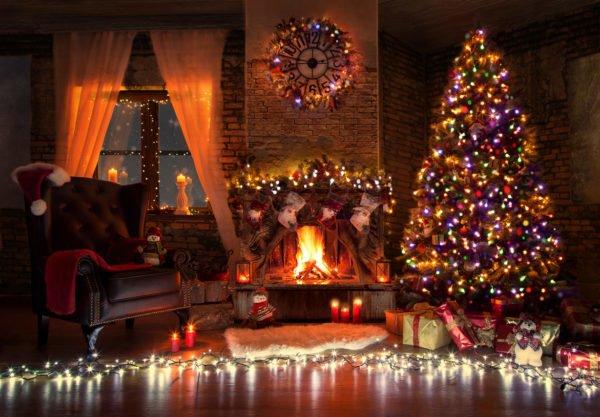 Decoracion luces navidad