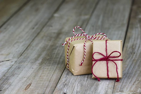 Lazos de navidad 2020 manualidades faciles ideas lazo cordon paquete pequeño