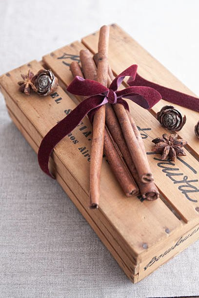 Lazos de navidad 2020 manualidades faciles ideas lazo terciopelo caja madera