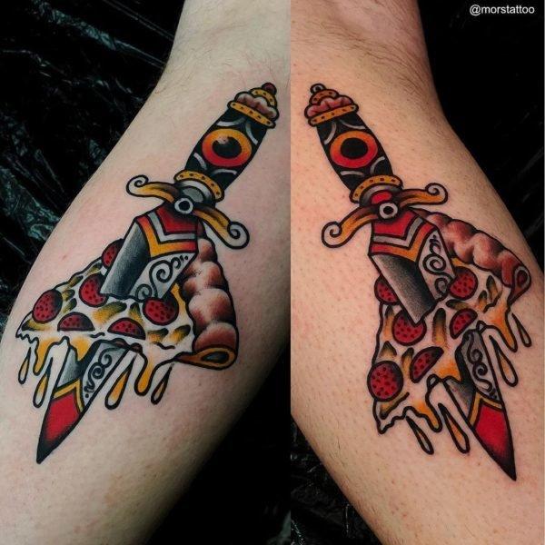 Tatuajes para parejas 2021 daga color