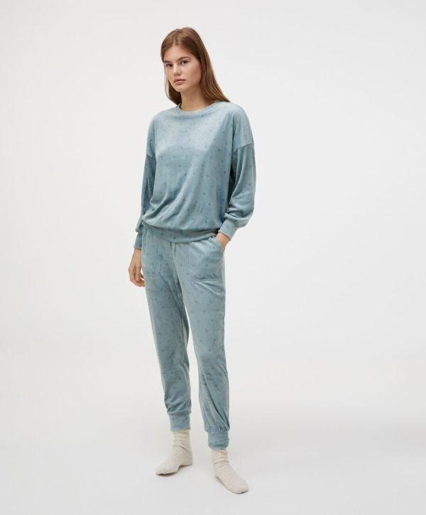 REBAJAS Oysho invierno 2021 pijama polar