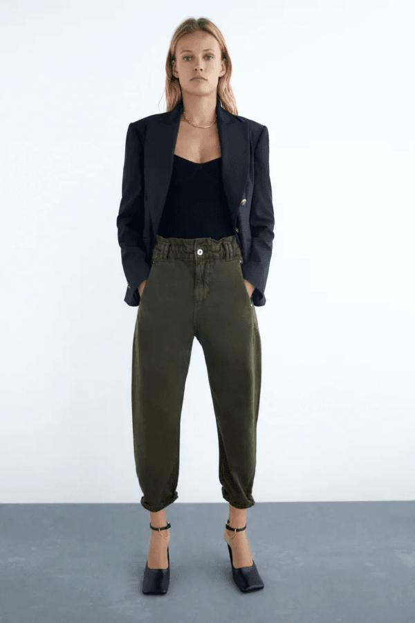 Rebajas ZARA invierno 2021 pantalones jeans baggy