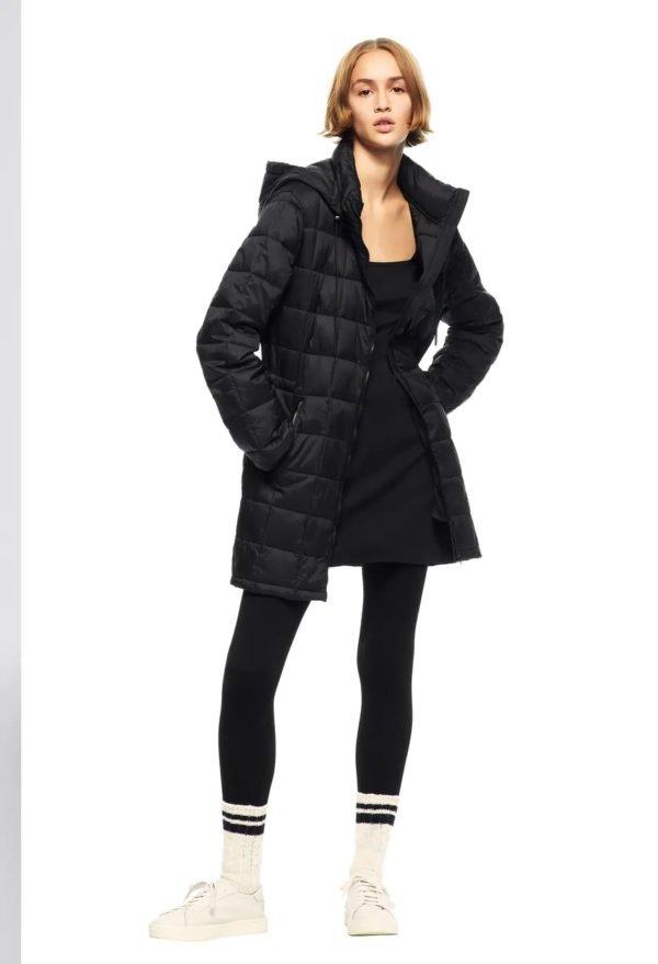 Catalogo zara mujer INVIERNO 2021 abrigo acolchado