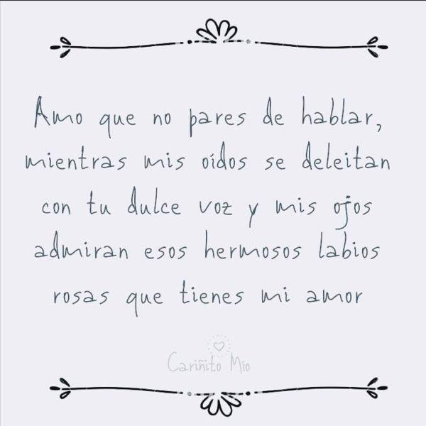 Texto de amor de Cariñito_mio