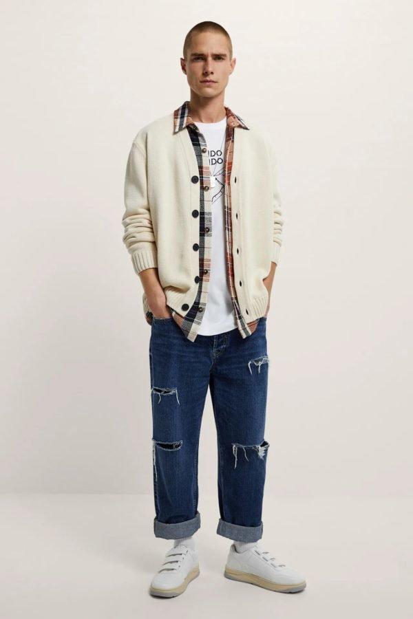 Rebajas zara primavera verano 2021 jeans straight hombre