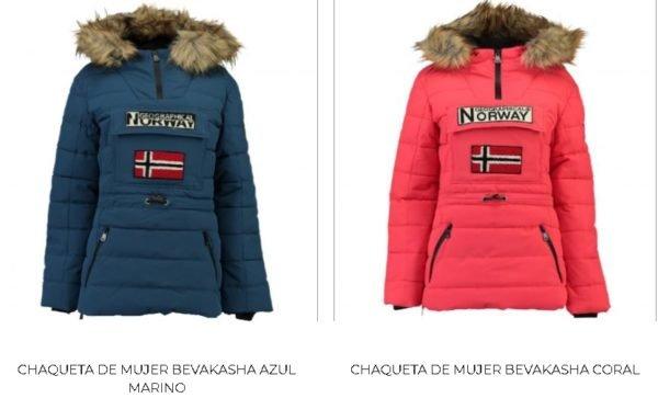Chaquetas Norway mujer
