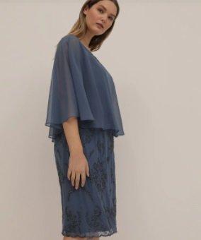 Vestido talla grande Couchel Collection