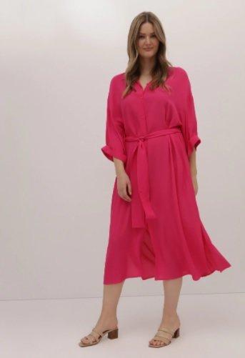 Vestido Couchel Collection rosa talla XL