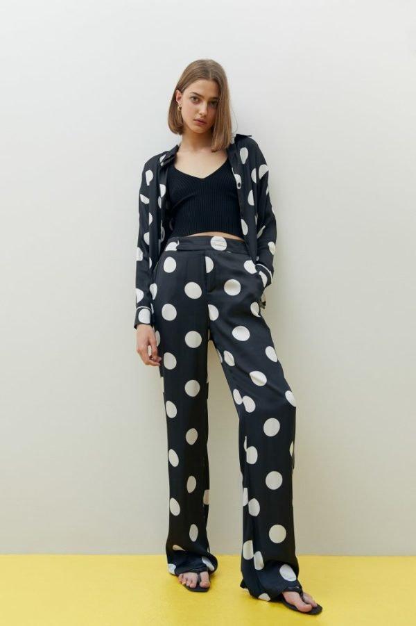Catalogo Sfera primavera verano 2021 PANTALONES pantalon lunares