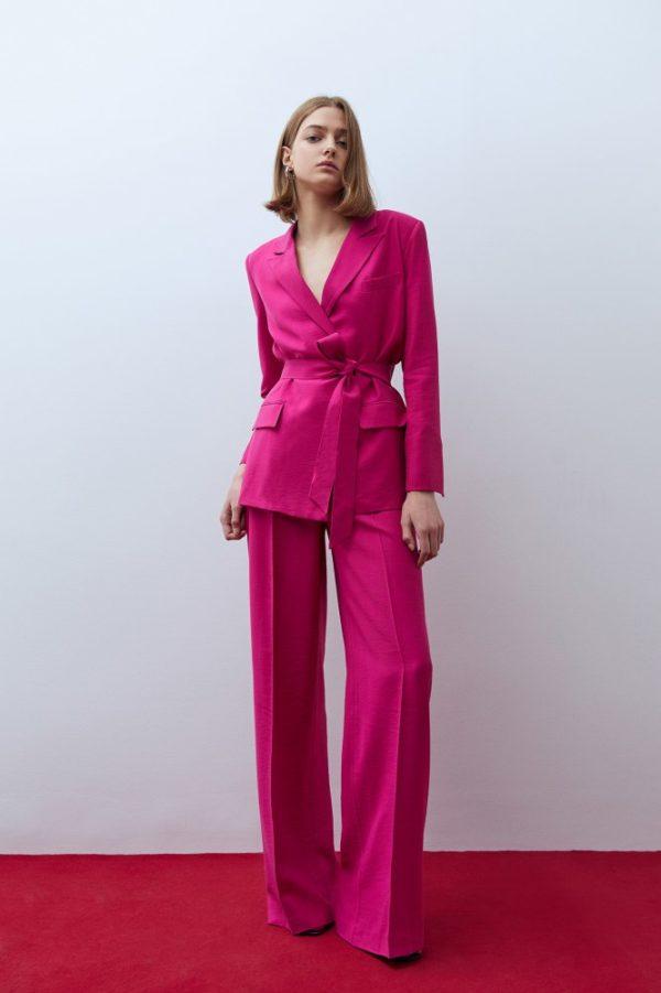 Catalogo Sfera primavera verano 2021 PANTALONES pantalon traje fucsia