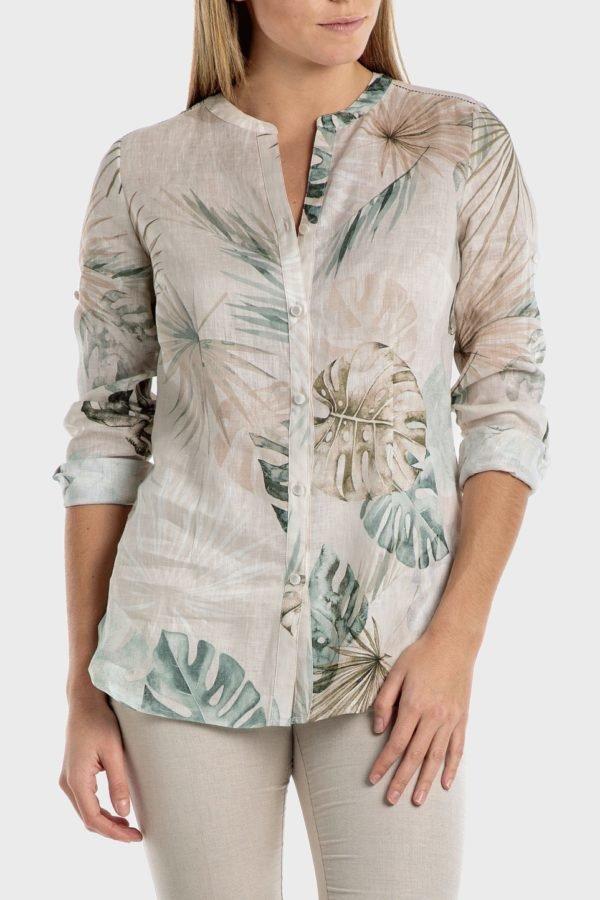 Catalago verano punto roma camisa lino tropical