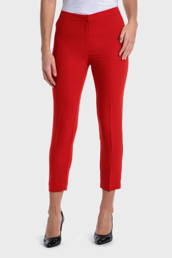 Catalago verano punto roma pantalon capri rojo