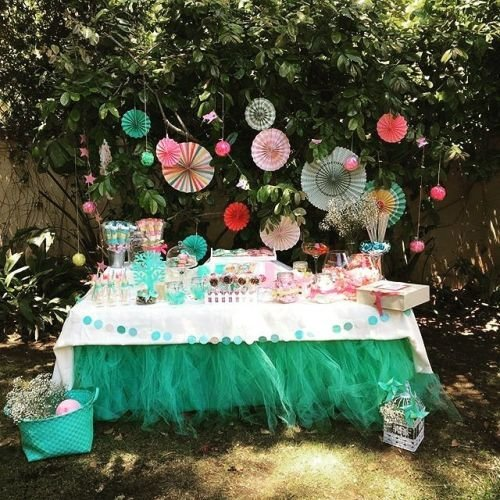 Mesa de golosinas fiesta