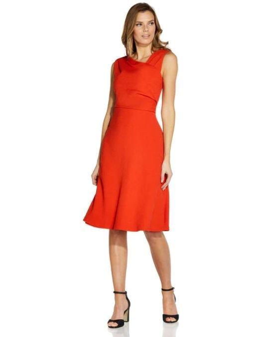 Vestidos de fiesta el corte ingles primavera verano vestido midi rojo
