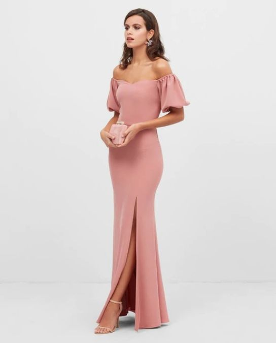 Vestidos de fiesta el corte ingles primavera verano vestido obertura rosa