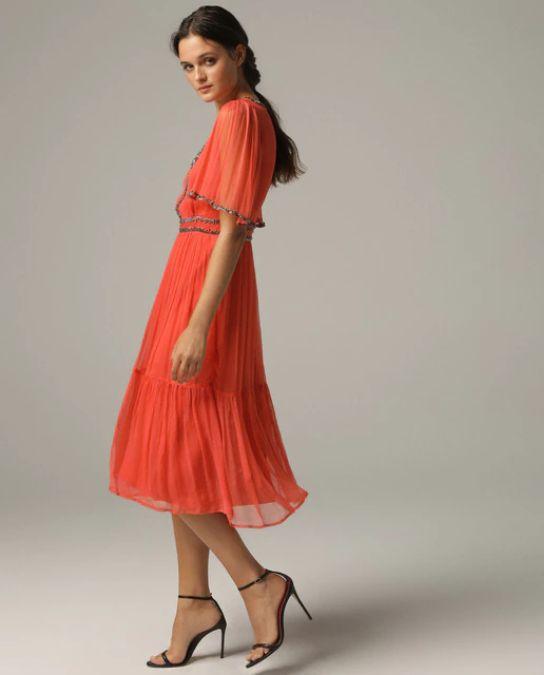 Vestidos de fiesta el corte ingles primavera verano vestido rojo