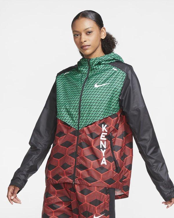 Catalogo nike para mujer otoño invierno 2021 2022 chaqueta entrenar