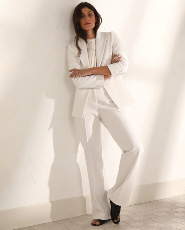 Catalogo tintoretto primavera verano 2021 chaqueta blazer blanco