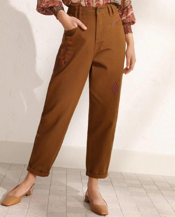 Catalogo tintoretto primavera verano 2021 pantalon ancho estampado