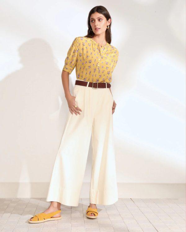 Catalogo tintoretto primavera verano 2021 pantalon ancho pinzas