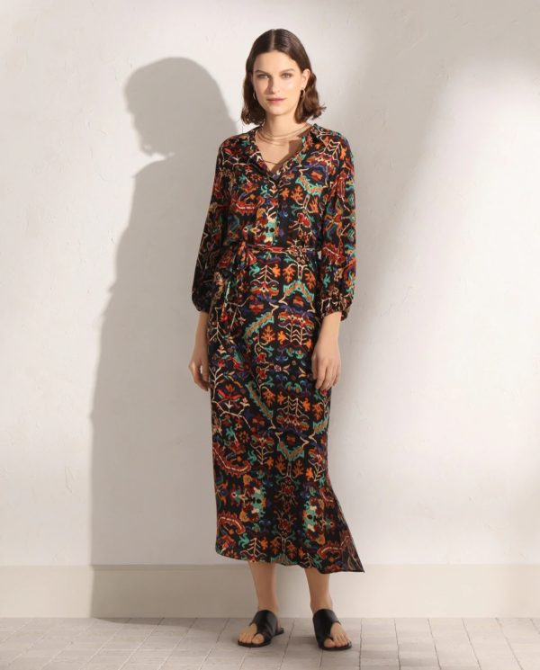 Catalogo tintoretto primavera verano 2021 vestido estampado