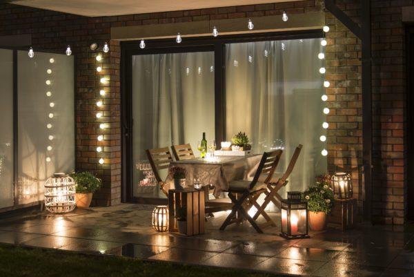 Como crear una zona chill out para jardin terraza patio balcon luces