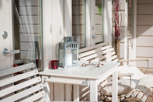 Como crear una zona chill out para jardin terraza patio balcon pozo banco