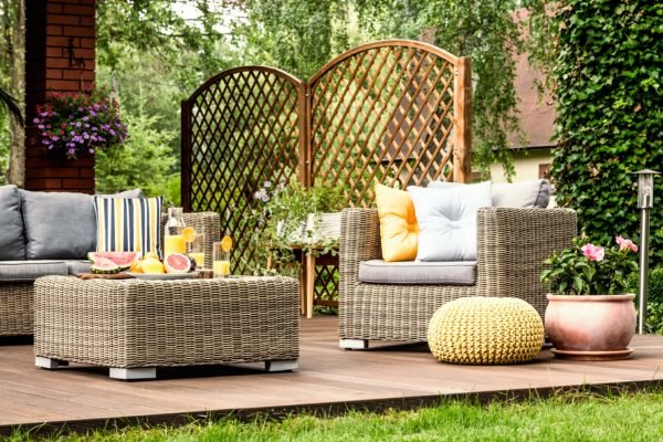 Como crear una zona chill out para jardin terraza patio balcon pozo muebles