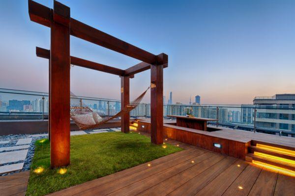 Como crear una zona chill out para jardin terraza patio balcon pozo pergola