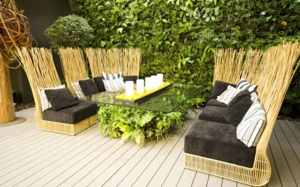 Como crear una zona chill out para jardin terraza patio balcon velas