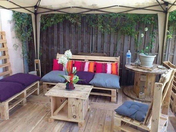 Como crear zona chill out balcon patio
