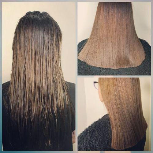 Cortes de cabello recto