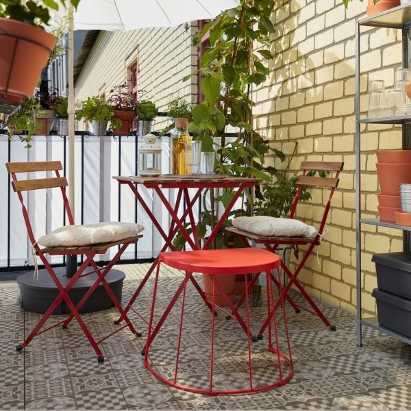 Rebajas IKEA 2021 conjunto terraza tarno