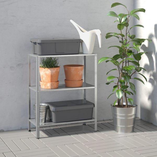 Rebajas IKEA 2021 estanteria terraza hillys