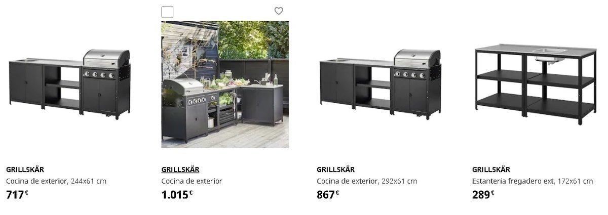 Barbacoas Ikea