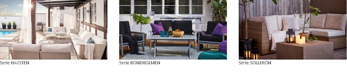 Muebles de exterior Ikea