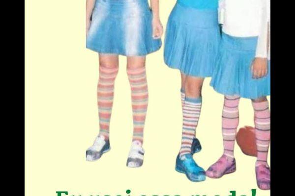 Calcetines de rayas de color