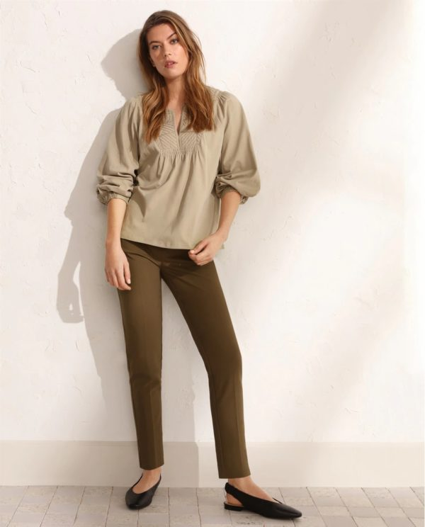Tintoretto otoño invierno 2021 2022 camisa pantalon algodon