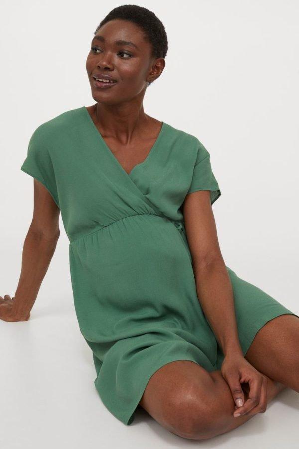 Vestidos de fiesta cortos vestido H&M color verde
