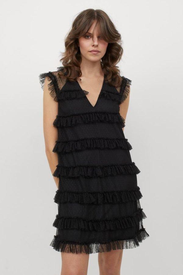 Vestidos de fiesta otoño invierno 2021 2022 modelo tulh&m