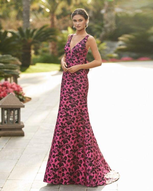 Vestidos de invitada de boda vestidos largos ROSA CLARA 5t1b7