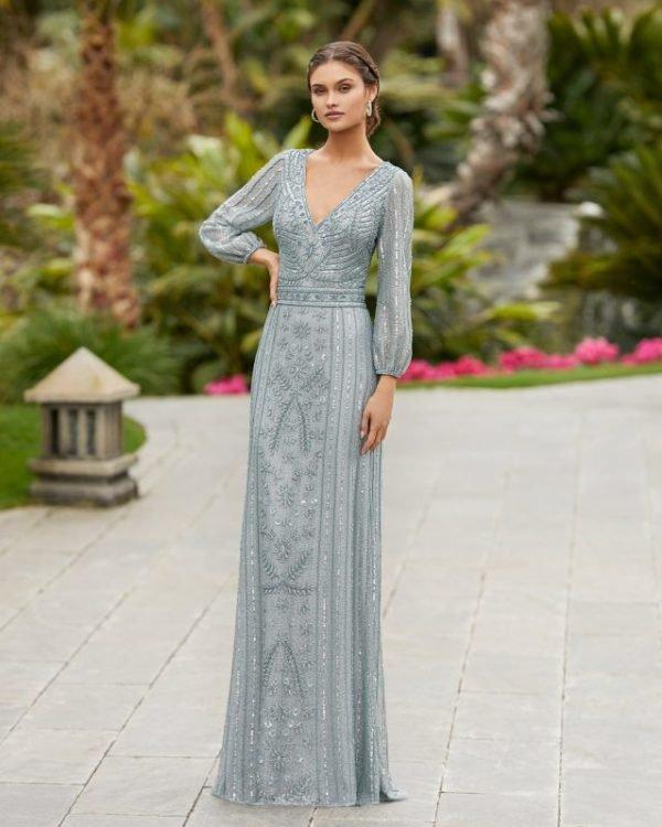 Vestidos de invitada de boda vestidos largos ROSA CLARA 5t1e2