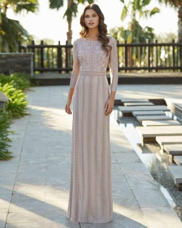 Vestidos de invitada de boda vestidos largos ROSA CLARA 5t1e9