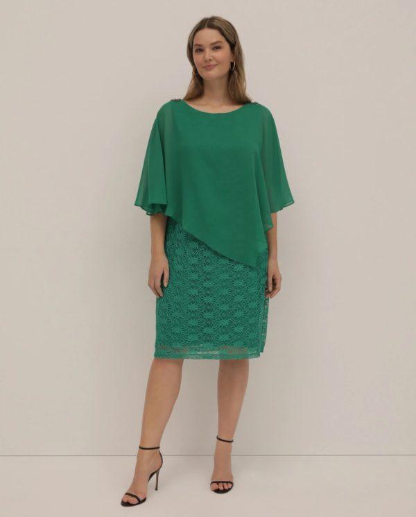 Vestidos gorditas la primavera verano EL CORTE INGLES vestido verde