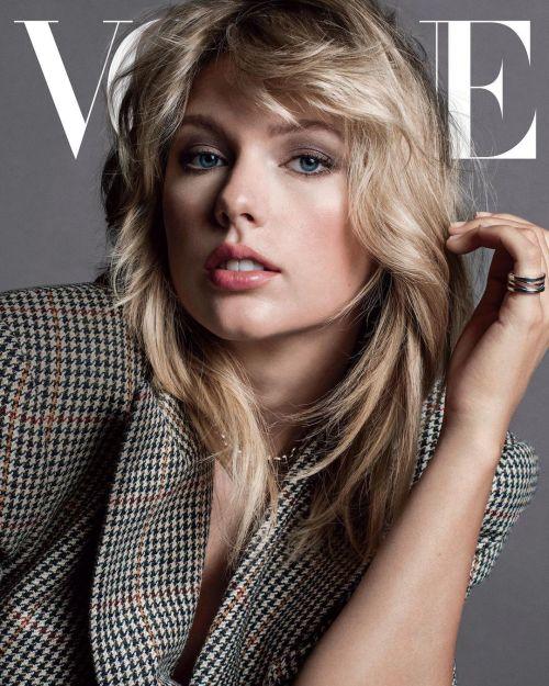Taylor Swift corte shaggy flequillo