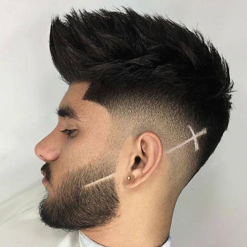 Corte de pelo degradado hombre